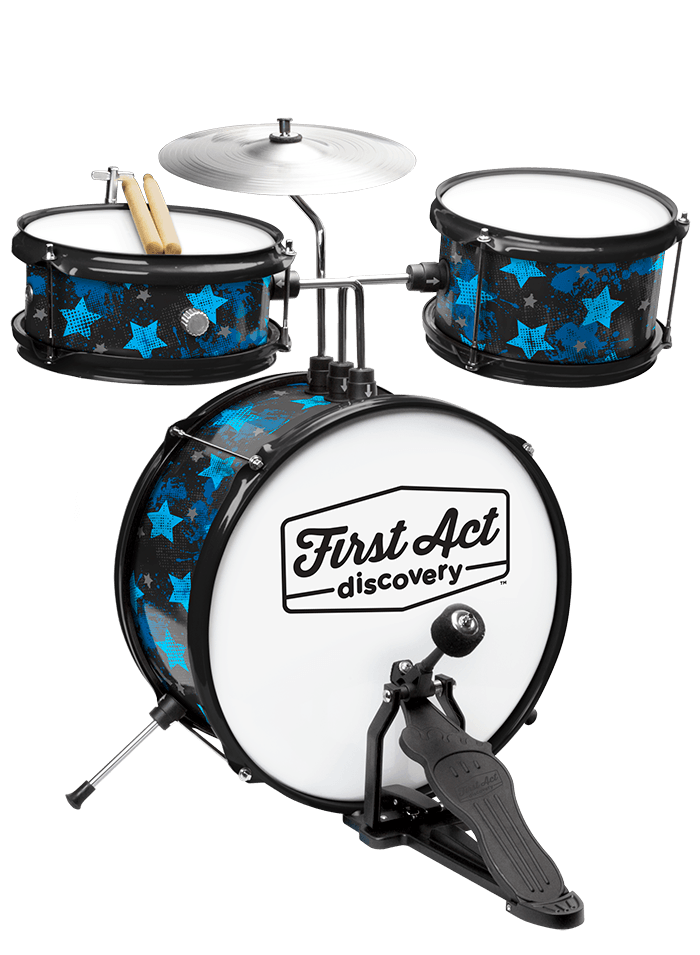 Rock Stars Drum Set | First Act Discovery Image