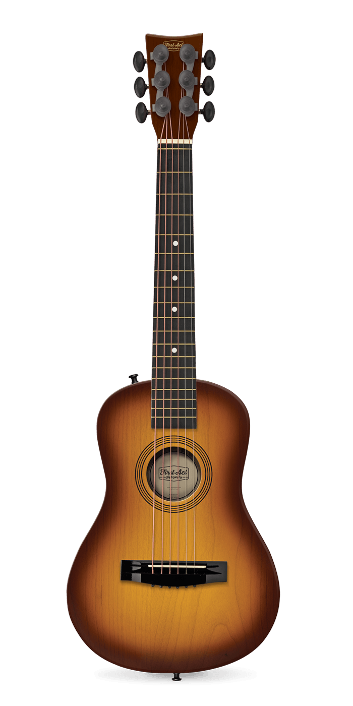 "Sunburst 30"" Acoustic Guitar 
