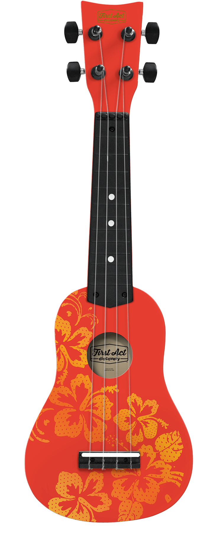 Soprano Ukulele Hawaiian Design | First Act Discovery Image