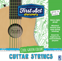 Acoustic Guitar Strings - Green | First Act Discovery Thumbnail