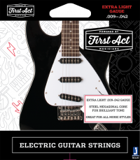 Professional electric guitar strings | First Act Thumbnail