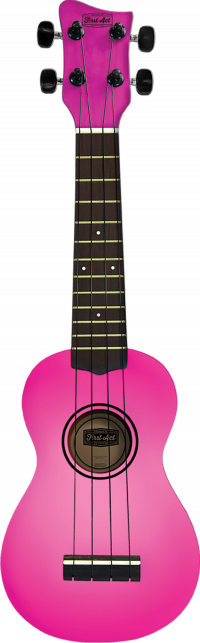 Soprano Ukulele - Pink Burst | First Act Thumbnail
