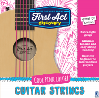 Acoustic Guitar Strings - Pink | First Act Discovery Thumbnail