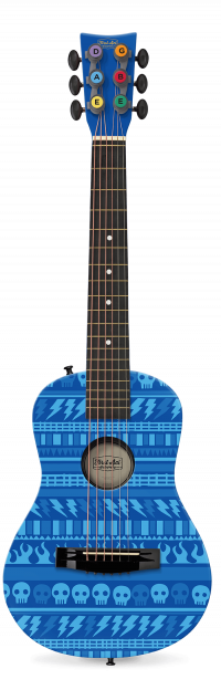 "Rock Pattern 30"" Acoustic Guitar Thumbnail"