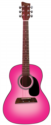 """36"""" Acoustic Guitar - Pink 