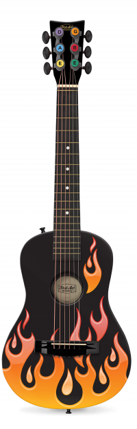 """Flames 30"""" Acoustic Guitar 