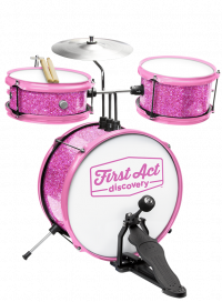 Pink Glitter Drum Set | First Act Discovery Thumbnail