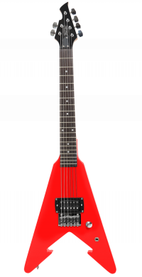 Red Arrow Electric Guitar with distortion, amplifier and picks | First Act Thumbnail