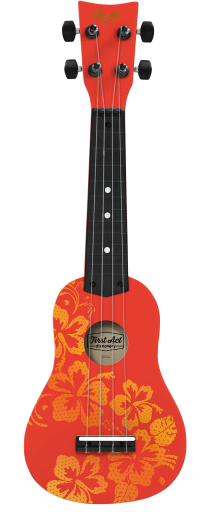 Soprano Ukulele Hawaiian Design | First Act Discovery Thumbnail