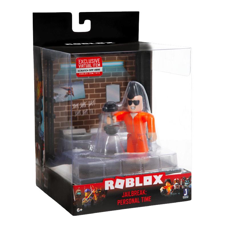 Jailbreak Inmate Roblox Toy Set