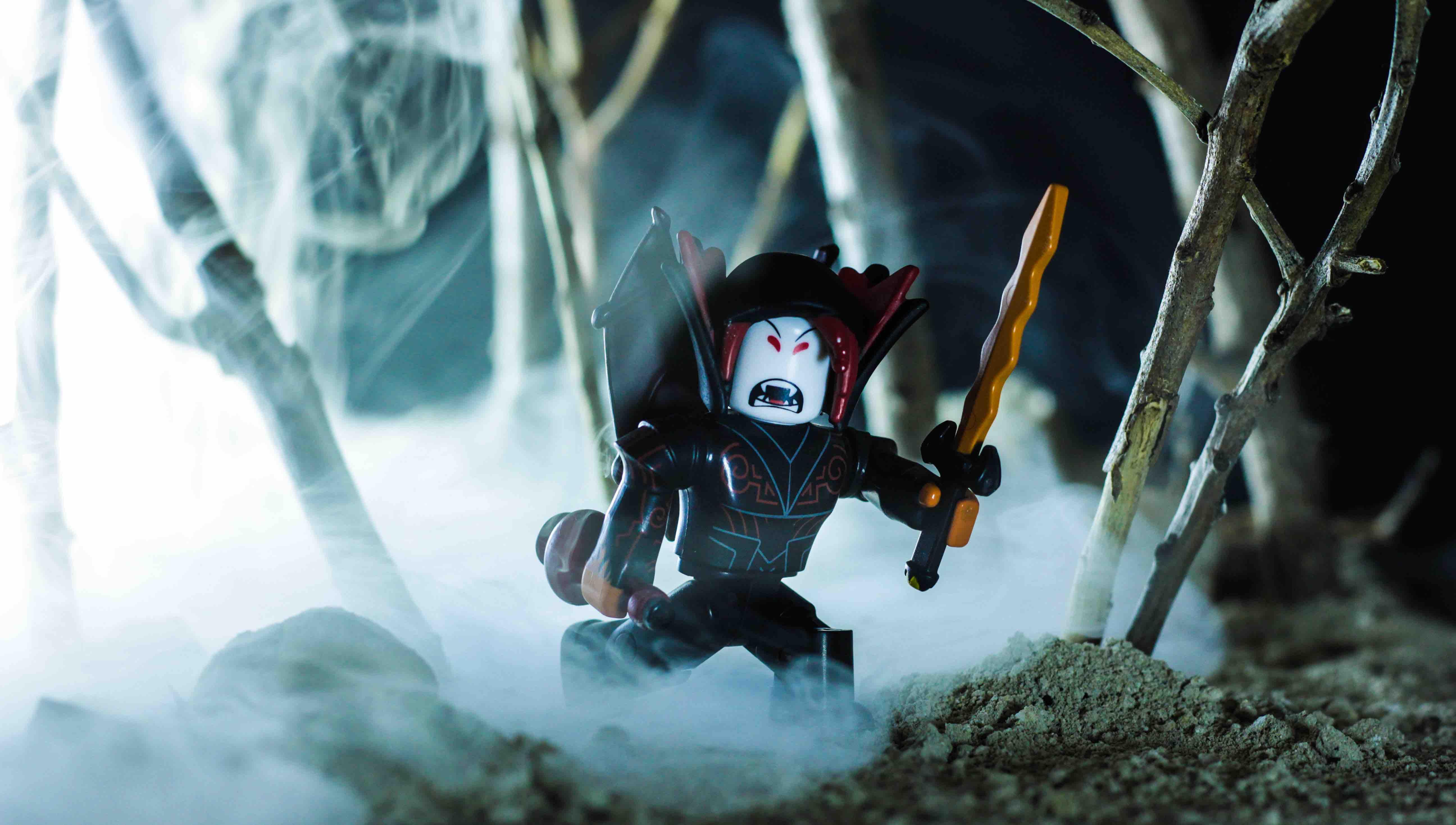 amazoncom roblox hunted vampire action figure comes Hunted Vampire