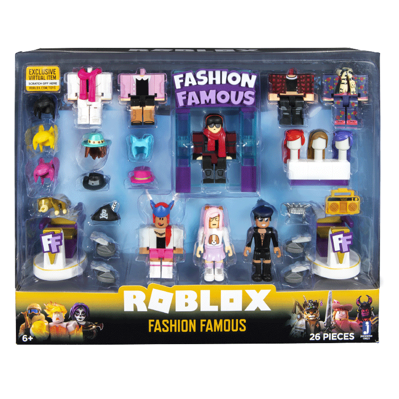 Zabawki Roblox Frost Empress Action Figure Exclusive Digital Fashion Famous
