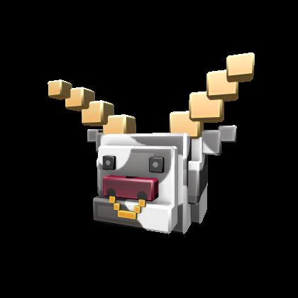 8-Bit Cowtaur Head