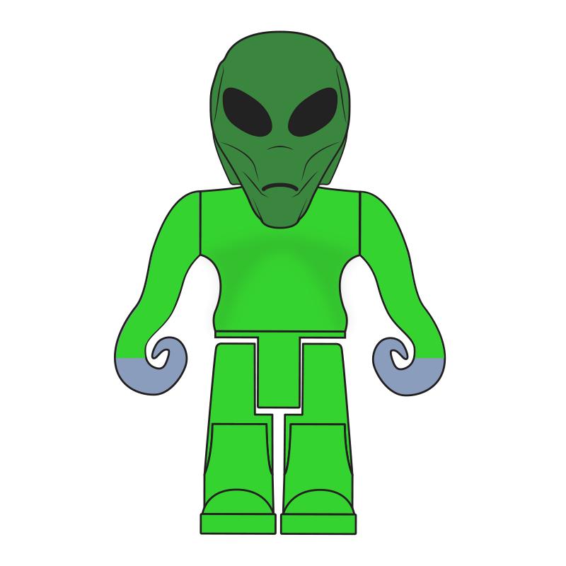 Pinewood Alien