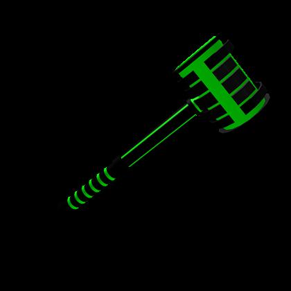 Green LAZER Hammer