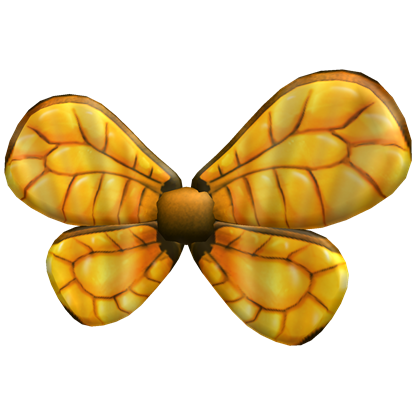 Gold Bee Wings