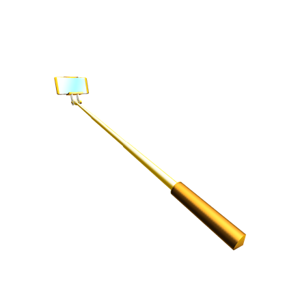 Gold Plated Selfie Stick